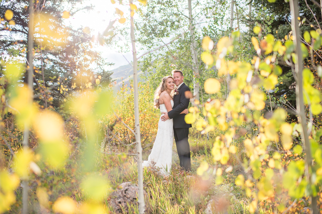 Donovan Pavilion Wedding | Fall | Vail