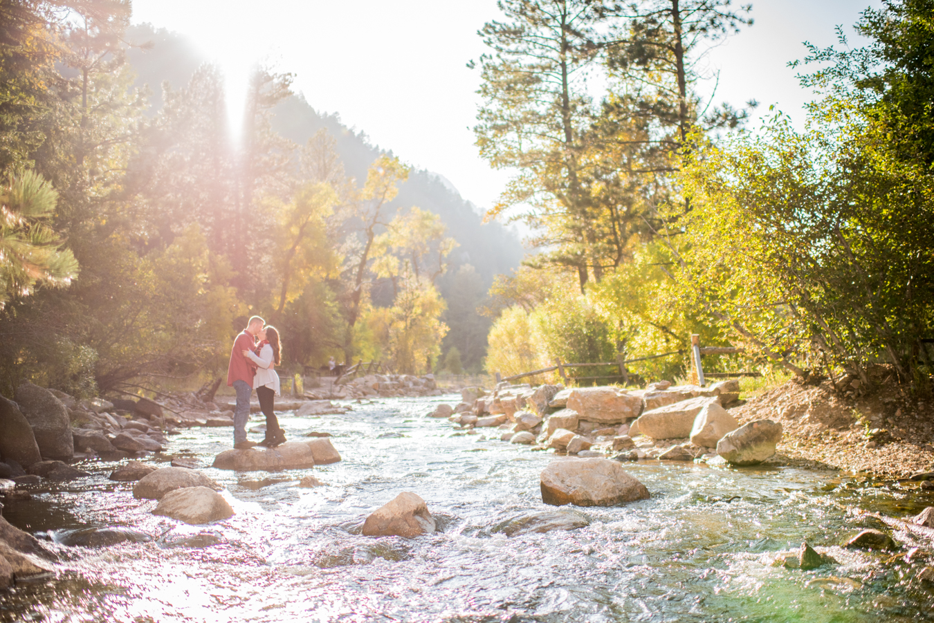 Eldorado Canyon State Park | Fall | Engagement